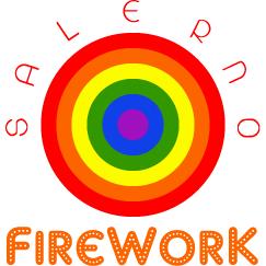 LOGO FIREWORK SALERNO MOVIDA LGBT
