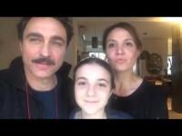 Luciano Scarpa, Eleonora Russo e Valeria per la Festa delle Famiglie