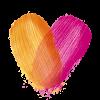 cuore pennellate copia